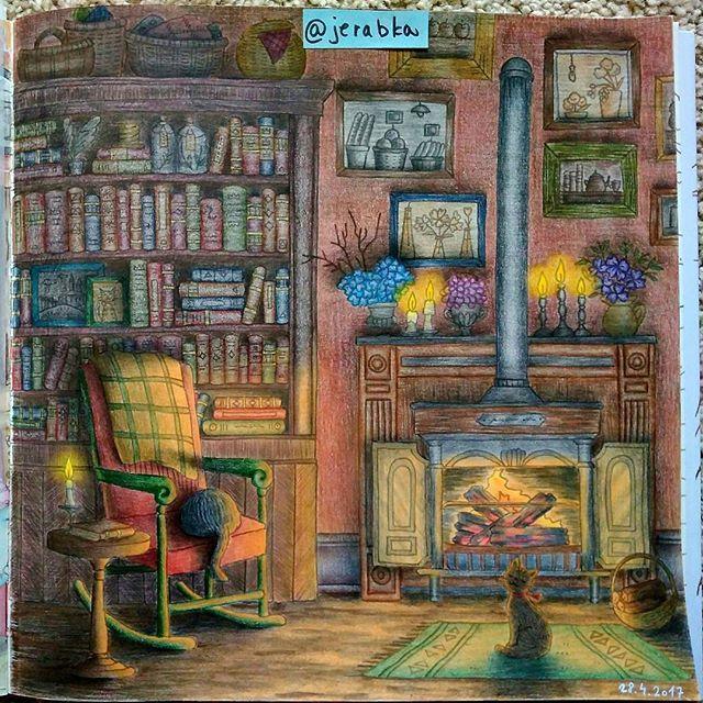 #romanticcountry #romanticcountrycoloringbook #eriy #coloring #coloringforadults #coloringismyfavorite #coloringisfun #coloringismyhobby #antistress #coloringismytherapy #omalovanky #coloringbook #pastelky #fabercastell #polychromos #Repost @jerabka with @insta.save.repost • • •