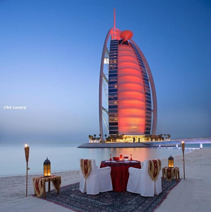 DubaiBurjal, Buckets Lists, United Arabic Emirates, Burj Al Arabic, Favorite Places, Dubai, Beautiful Places, Travel, Romantic Dinner