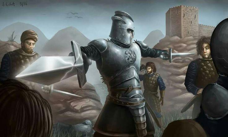 Ser Arthur Dayne, the Sword of the Morning, by samo94. #show