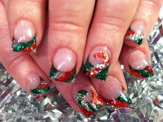 Christmas Holiday #nails #nailart