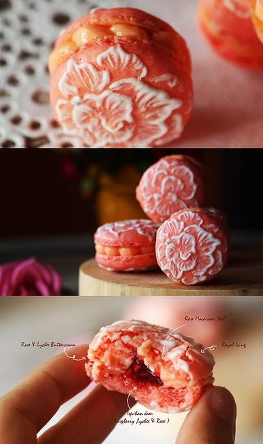 Ispahan Macarons, via Flickr.