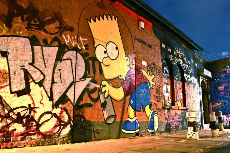 Bart Simpson in Shoreditch   Flickr - Photo Sharing!