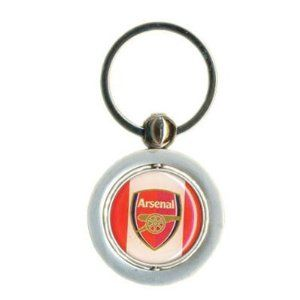 Arsenal Fc Official Metal Spin Crest Keyring by Arsenal Fc. $12.38. perfect gift idea for any Arsenal FC fan. Official Arsenal FC football club merchandise. circular Arsenal FC gunners club crest which is double sided and can be spun around. circular in shape. This Exclusive Official Arsenal Fc Football Club Metal Spinning Keyring Is Circular In Shape. Under The Key Ring There Is A Circular Arsenal Fc Gunners Club Crest Which Is Double Sided And Can Be Spun Around. The O...