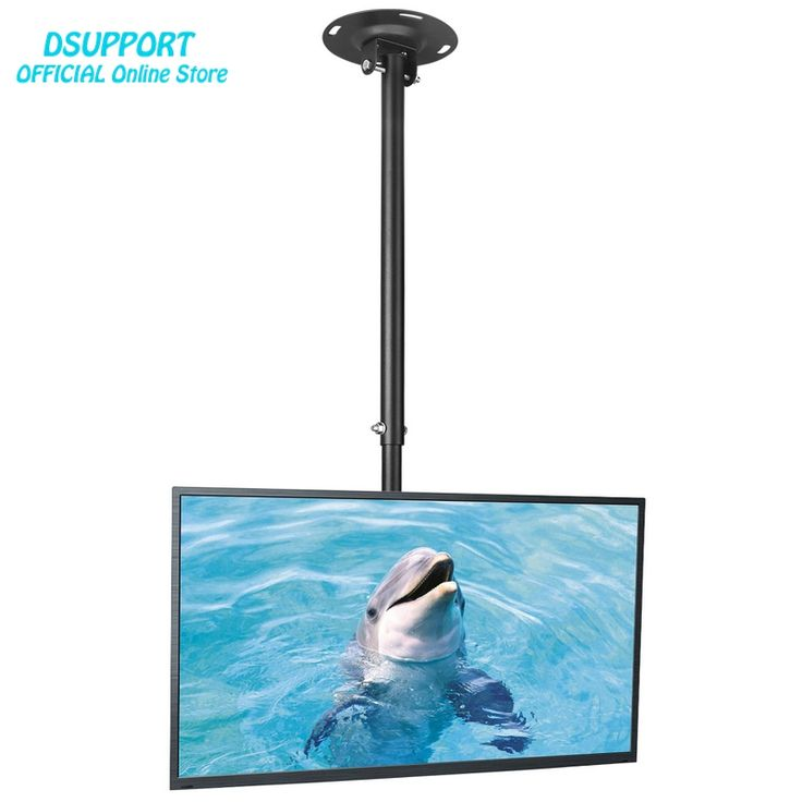 """Ceiling TV Mount Bracket Fits Most 26-50"""" LCD LED Plasma Monitor Flat Panel Screen Display 