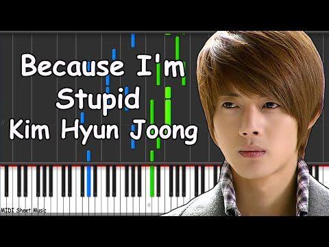 Boys Over Flowers - Because I'm Stupid Piano midi - YouTube