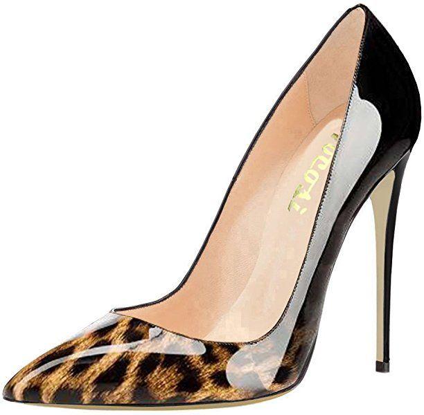 7c09a14dbc4c2 Amazon.com | VOCOSI Pointy Toe Pumps for Women, Patent Gradient ...