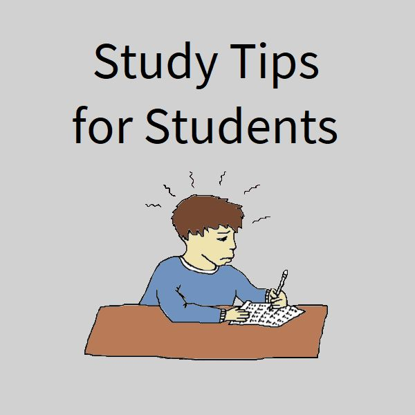 Study Tips for Students [board cover]