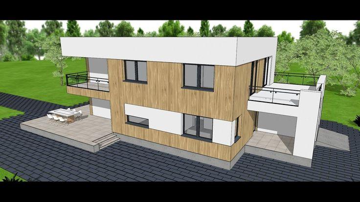 House C28 - 49 euro / dwg plan - minimalist style design