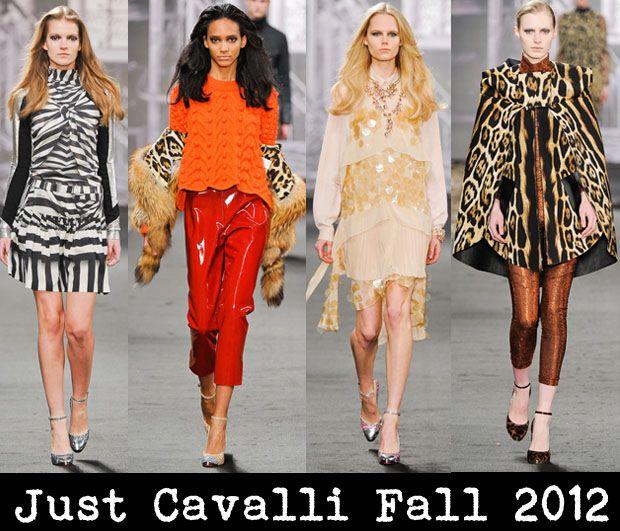 Just Cavalli Fall 2012: Horse Fall, Usted Cavalli, Just Cavallier Fall 2012, Animal Prints
