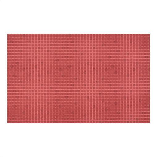 Πλακάκι Tamara σε χρώμα κόκκινο 25x40cm