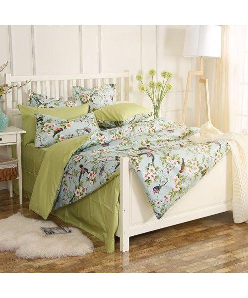 Luxury Egyptian Cotton Sateen Bed Set [HBS-15-00008]