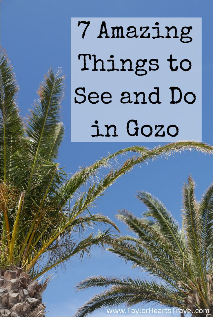 7 of the best things to see and do in Gozo (Malta)