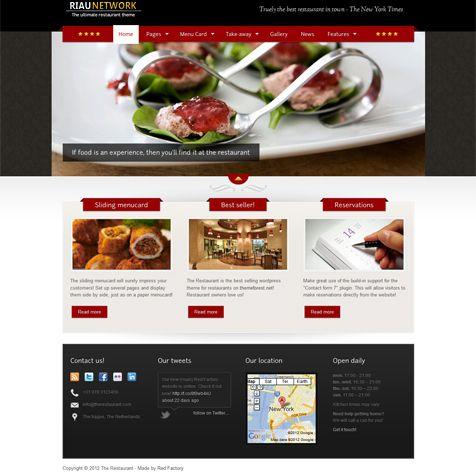 Jasa Pembuatan Website Restaurant
