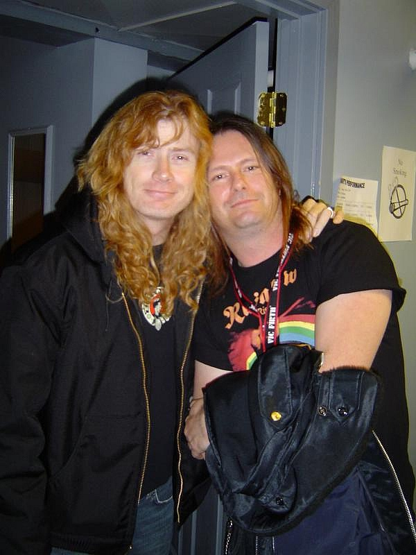 Dave mustaine gary holt dave mustaine pinterest Rock and fashion style originating in seattle