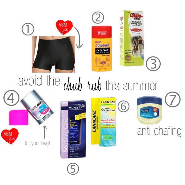 7 products to help avoid (or soothe) the CHUB RUB this summer!