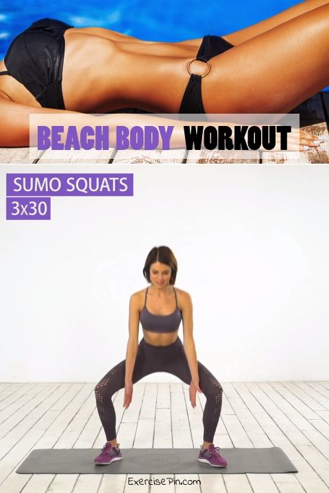 Beach Body Workout To Blast Your Fat Away For Good