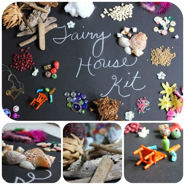 DIY Fairy House Kits: Gifts Ideas, Fairies Gardens, Fairy Houses, Diy Fairies, Fairies Houses, Diy Gifts, Houses Fun, Fairies Parties, Houses Kits