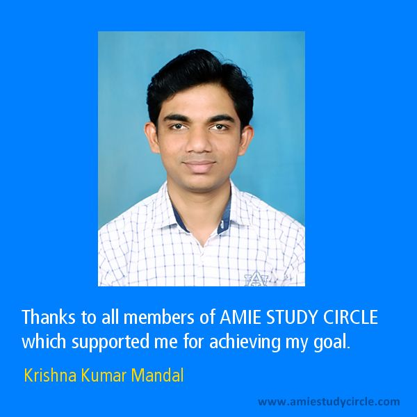 AMIE Study Circle 2018, Review, Study Material Cost, Syllabus