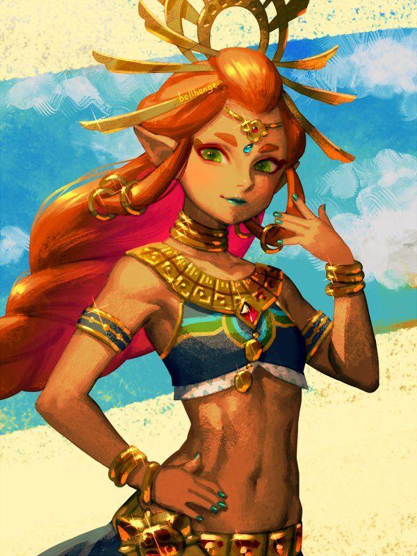 Legend of Zelda Breath of the Wild art > Gerudo Chief Riju