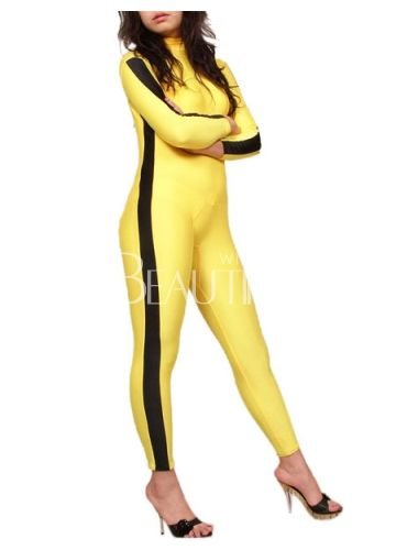 Yellow Spandex Catsuit– Discount Lycra Spandex Catsuits
