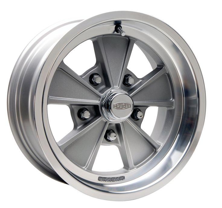 Cragar Series 500g Eliminator Rwd Gray Cragar Wheels