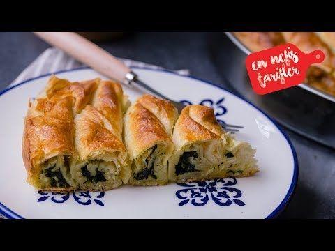 El Açması Tadında Ispanaklı Unlu Börek Nasıl Yapılır? Hazır Yufkadan Pratik Ispanaklı Börek Tarifi - YouTube