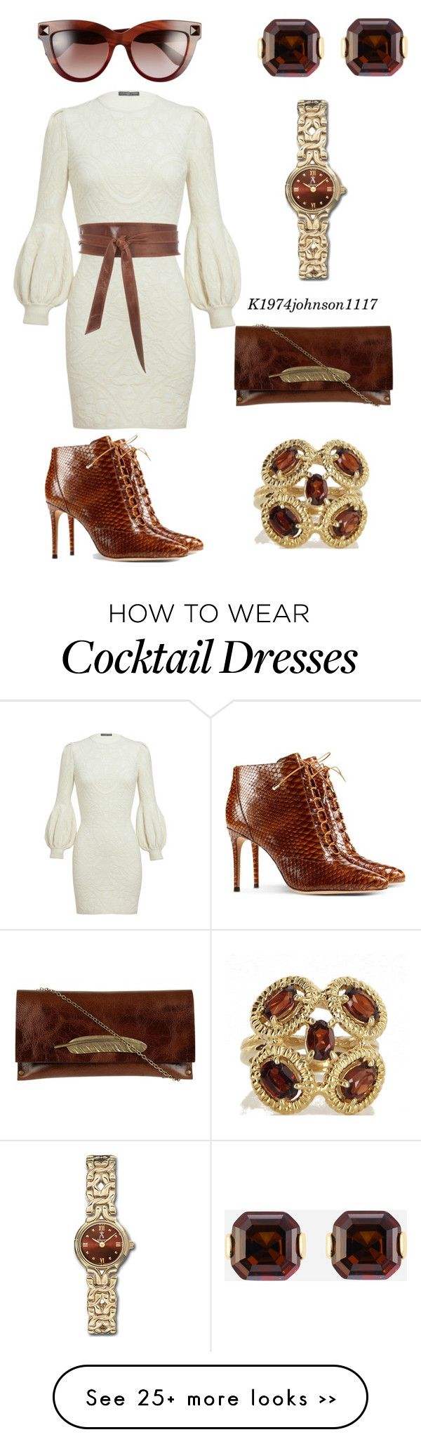 """Brown & Beautiful"" by k1974johnson1117 on Polyvore"
