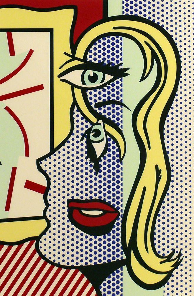 Vintage Pop Art By Roy Lichenstein Popart Pop Art Painting Lichtenstein Pop Art Pop Art Wallpaper