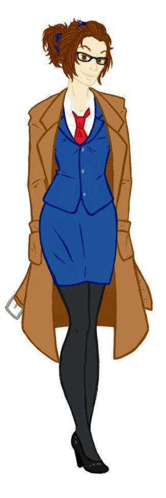 Fem!10th Doctor. My next Halloween costume?