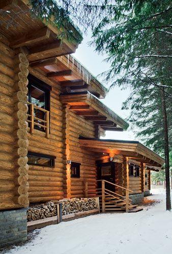 Баня по старинным технологиям ручной рубки | Деревянные дома ручной рубки | Журнал «Деревянные дома»