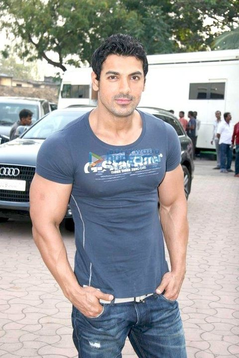 "john abraham body building - ""Bollywood"" film star.  Holy India film Industry!!"
