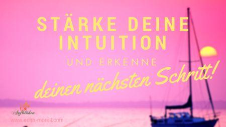 Wie du als hochsensibler Mensch deine innere Stimme erkennst und lernst deiner Intuition zu folgen und somit leichter deine Berufung findest.