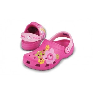 Hello Kitty Crocs for summer...flowers, flowers, flowers