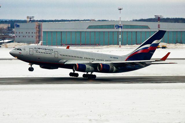 Aeroflot Ilyushin Il-96 take-off | Vasily Kuznetsov | Flickr