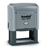 """Trodat 4928 Custom Self-inking Stamp 1-1/4"""" x 2-1/4"""". Ideal for business name, phone and email address stamps. Up to six lines of copy."""