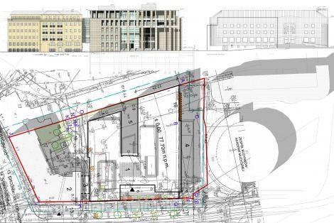 2002 W odpowiedzi na zwiększającą się liczbę studentów oraz zapotrzebowanie na coraz bardziej nowoczesne sale rozpoczęto starania o wybudowanie nowego obiektu. W 2002 r. przekazano Uczelni nieruchomość o łącznej powierzchni gruntu 2761 m2 przy ul. Towarowej 55. W 2003 r. rozpisano konkurs na projekt nowego budynku Uczelni, który początkowo nosił nazwę Centrum Edukacji Europejskiej. Do konkursu na koncepcję architektoniczną budowy zakwalifikowało się aż 53 uczestników. W wyniku…