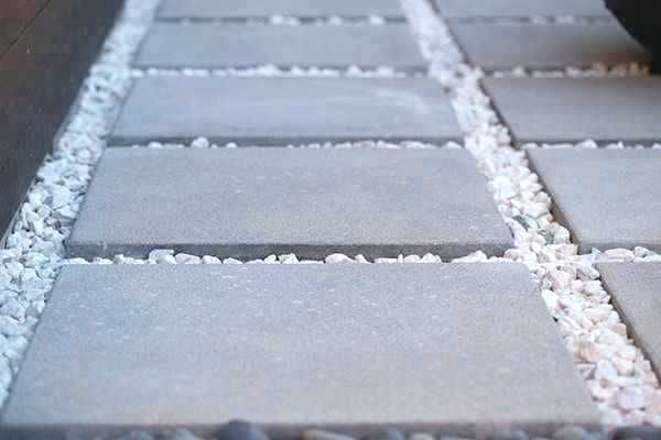 patio slabs inch x stones home depot
