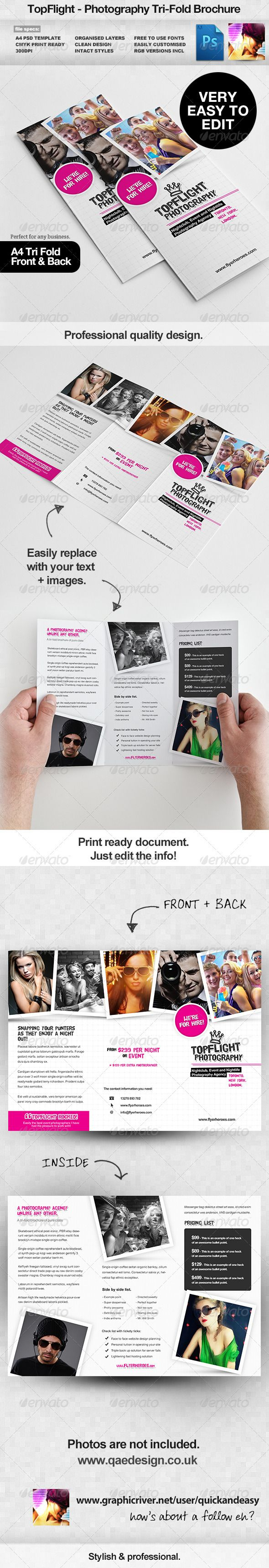 folding flyers templates