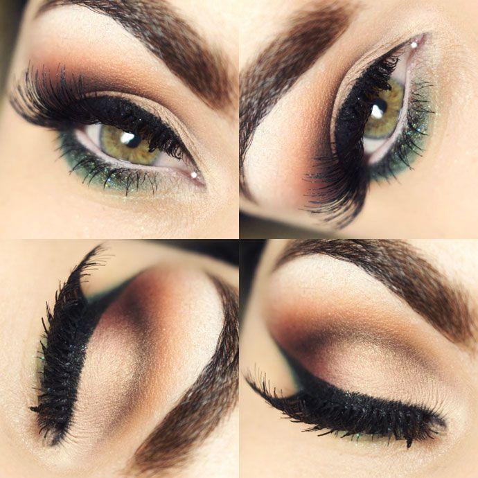 Tutorial – maquiagem verde para a primavera!