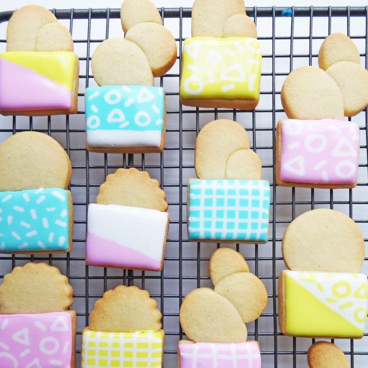 The Best Way to Make Cactus Cookies That Are Cute AF via Brit + Co