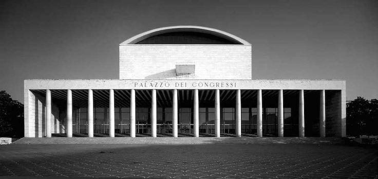 Palazzo dei Congressi Roma - Adalberto Libera, foto Moreno Maggi
