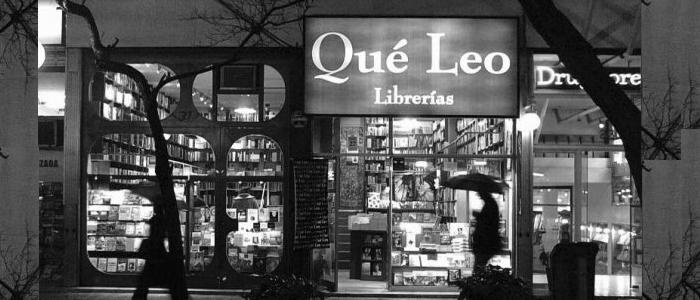 Librerías Que Leo.   Varias sucursales en Sanatiago; Apumanque, Providencia, Merced...mas detalles en su web:  http://queleochile.dyndns.org/blog/