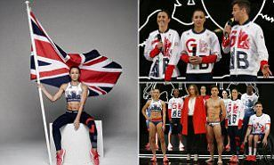 Team Great Britain's kit which will be worn by athletes at this summer's Olympic…
