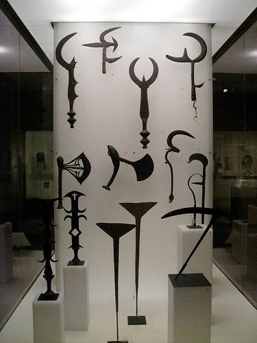 African weapons at Brooklyn Museum of Art