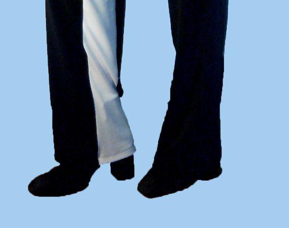 Pantalone jogging, pantalone smoking, pantaloni con elastico in vita, pantaloni eleganti, jersey stretch, con banda