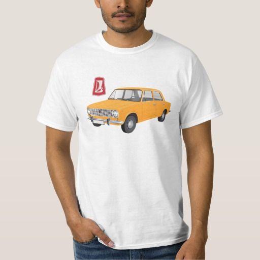 VAZ-2101 Lada 1200 DIY (orange)   #lada #vaz-2101 #badge #tshirt #automobile #classic