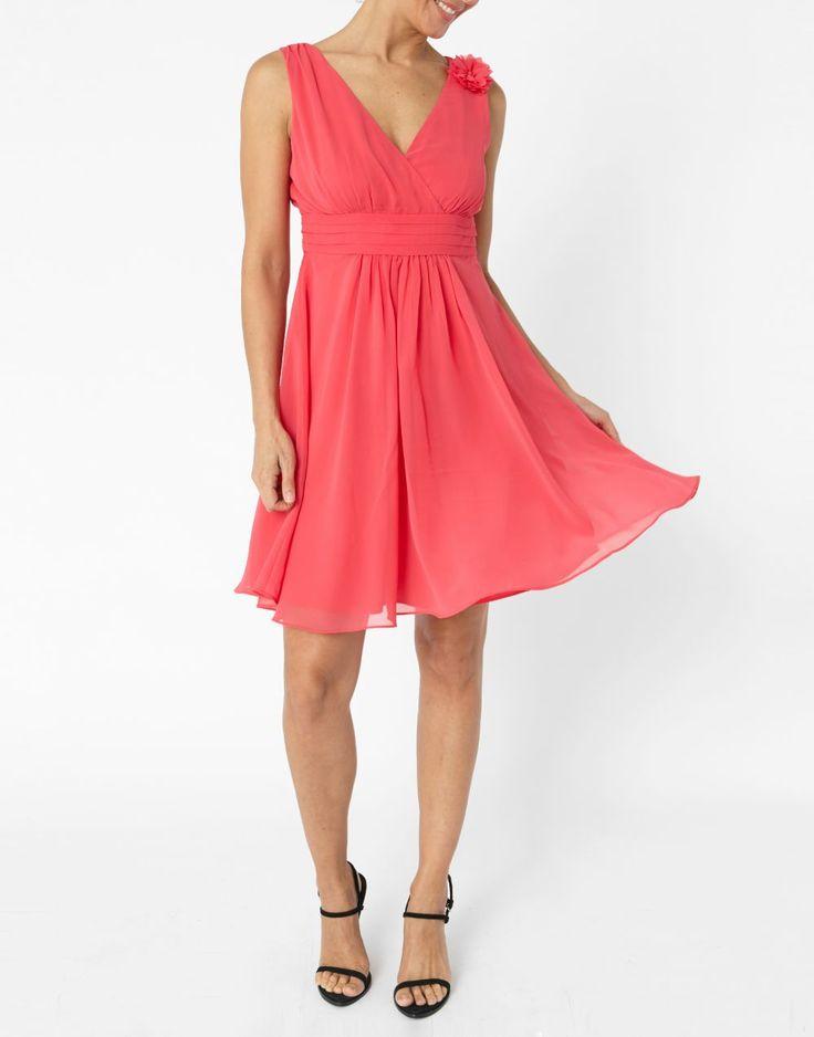 66ff7716b71 Robe dentelle rose jacqueline riu – Robes de soirée populaires en France