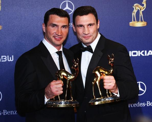 Vladimir and Vitali Klitschko