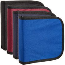 Bulk Portable CD Storage Cases, 24-Disk Capacity at DollarTree.com