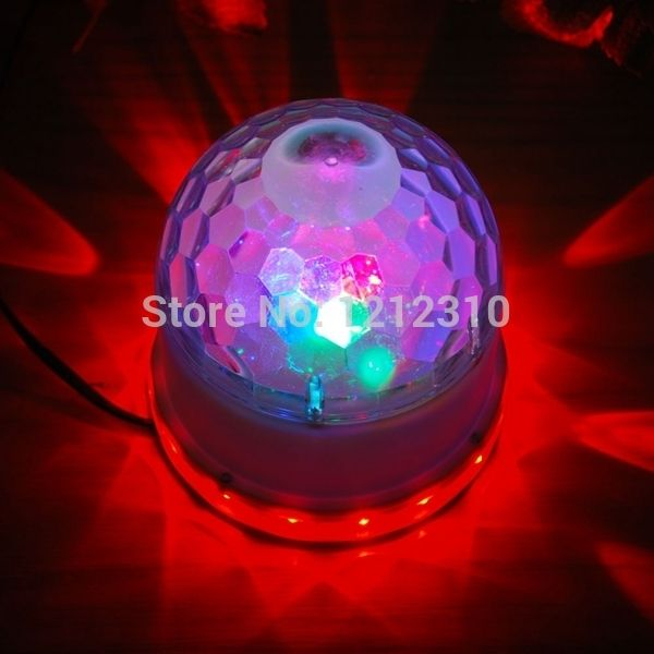 139.82$  Watch now - http://alijfq.shopchina.info/go.php?t=2046695399 - 2014 New 18W 2in1 Voice-Activated RGB Crystal Magic Ball 48 LEDs Stage Light Auto For Party Disco Bar Black/White  #buyininternet